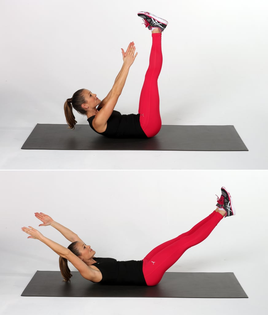Crunches Workout To Tone Stomach Popsugar Fitness Australia