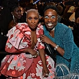 Cynthia Erivo and Billy Porter at the 2020 Grammys