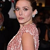 Elizabeth Olsen's Floral Chopard Earrings