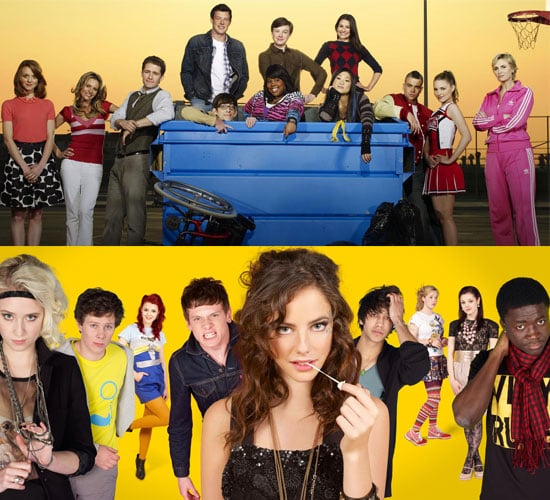 Poll On Whether You Prefer US TV Series Glee or UK Teen TV Series Skins and Why?