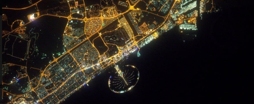 NASA Released Photos to Show How Much Dubai Has Grown in 50 Years