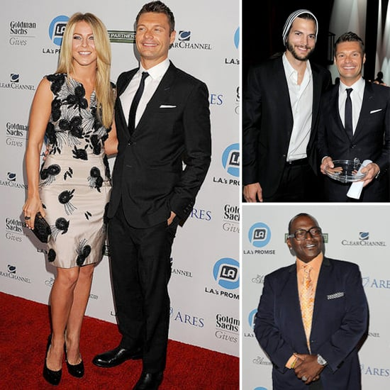 Ryan Seacrest Awarded For His Charitable Work With Julianne Hough by His Side