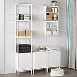 Dynan Shelving Unit With Cabinets
