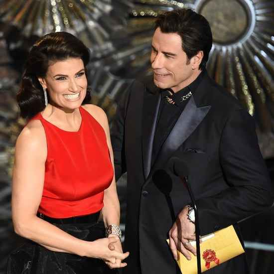 John Travolta Explains His Idina Menzel Adele Dazeem Moment