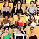 """In case you missed even a moment of the SAG Awards action, we've got you covered with this comprehensive """"who wore what"""" roundup."""