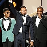 Pictured: Terrence Howard, Lee Daniels, and Bryshere Y. Gray