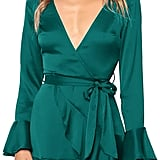 MITILLY Ruffle Wrap Dress