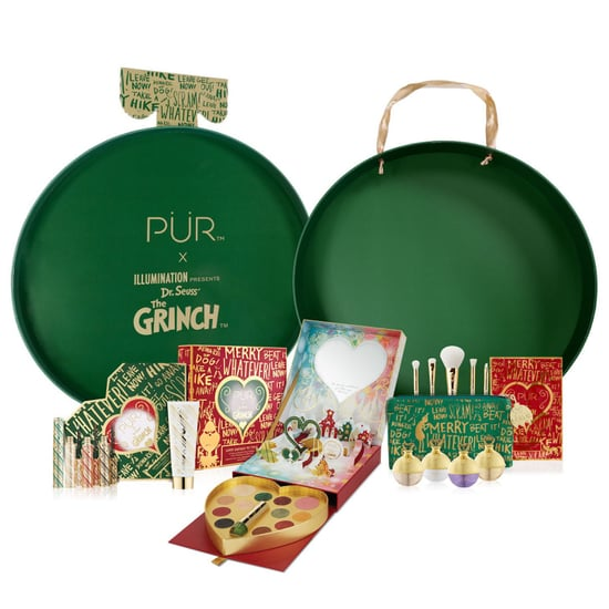 Pur Cosmetics Grinch Holiday Collection 2018