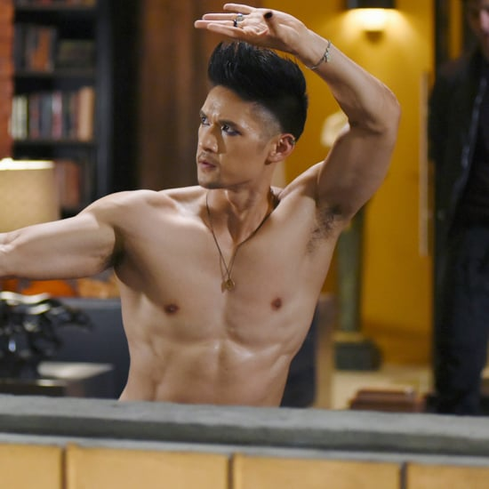 Harry Shum Jr. Shirtless Pictures
