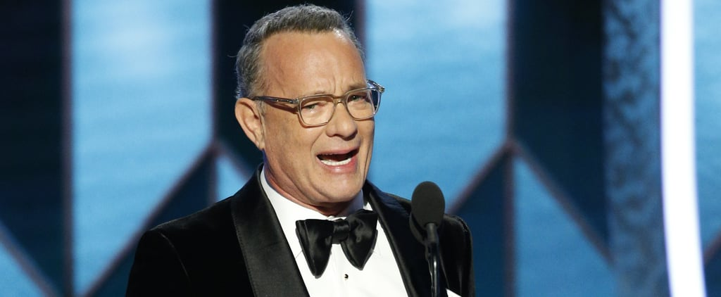 Did Tom Hanks Swear at the Golden Globe Awards in 2020?