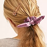 Knotted Velvet Scrunchie