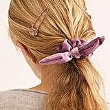 Knotted Velvet Scrunchie