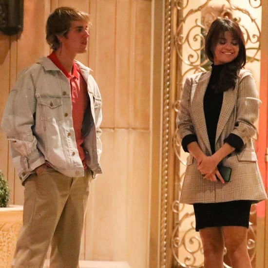 Justin Bieber and Selena Gomez in LA on Valentine's Day 2018
