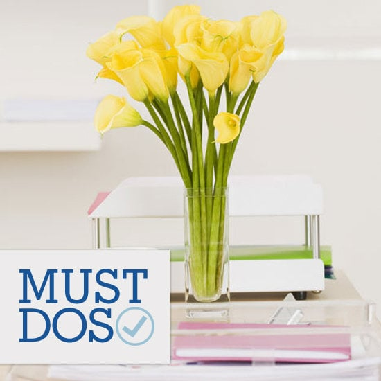 Savvy's sharing nine great tips on how to brighten your May (even if you're chained to your desk).