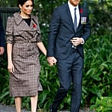 Meghan Markle's ASOS Maternity Dress October 2018