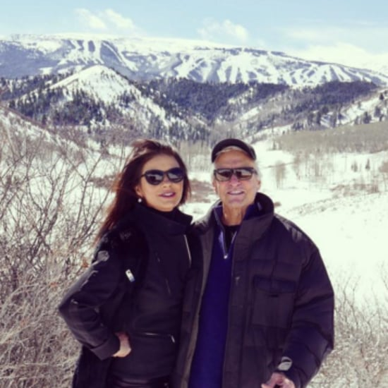 Catherine Zeta-Jones and Michael Douglas in Aspen 2016