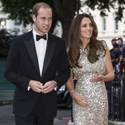Kate Middleton and Prince William at Tusk Awards Dinner