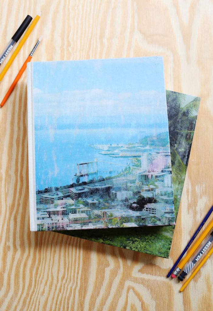 DIY Fabric Photo Transfer Journals