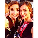 Danielle Snyder of Dannijo Hung Out With Lena Dunham