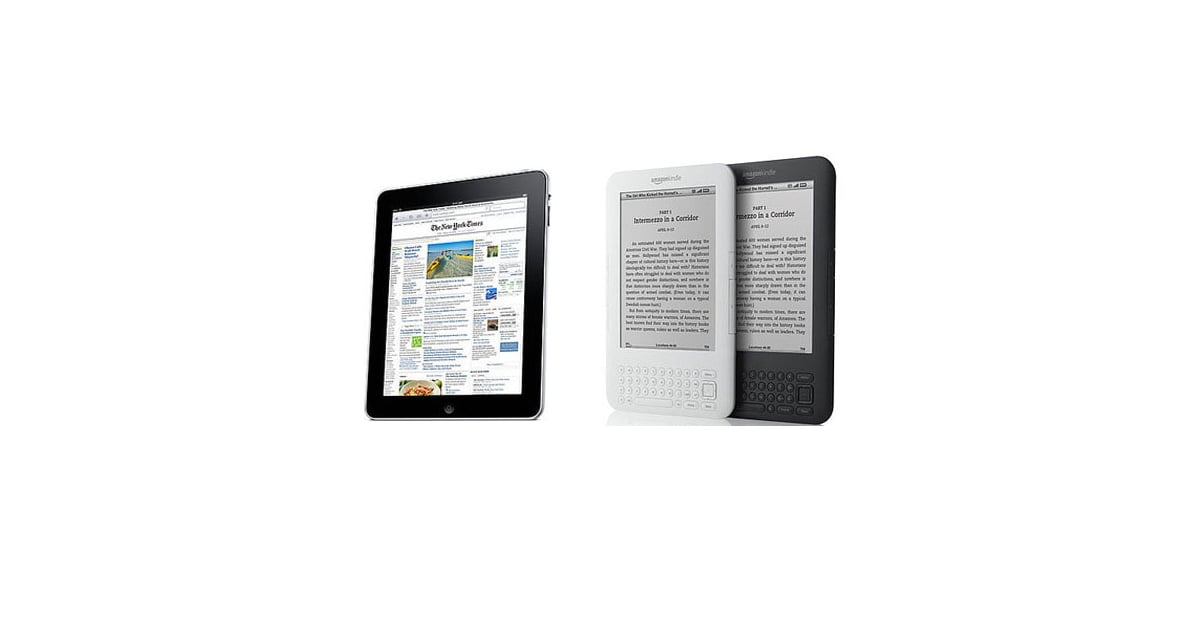 Apple Ipad Vs Kindle: IPad Vs. Kindle