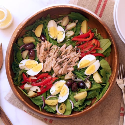 Make Ahead Nicoise Salad