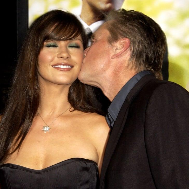 Michael Douglas and Catherine Zeta Jones Cutest Pictures     PopSugar