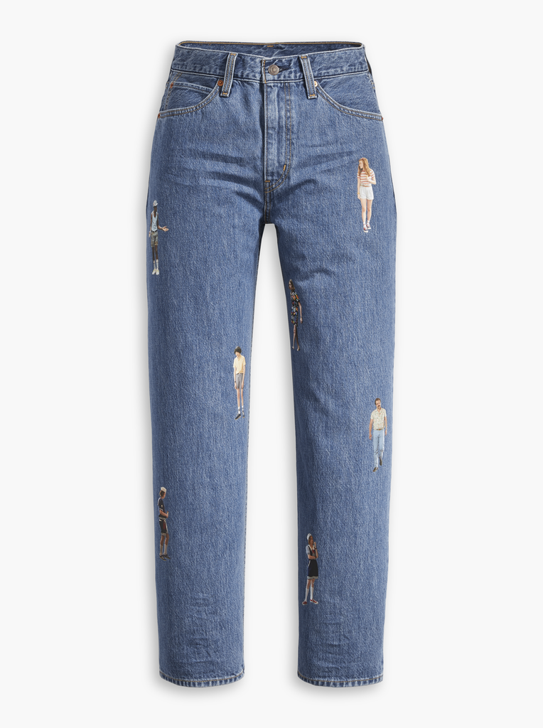 Levi's x Stranger Things Dad Jeans