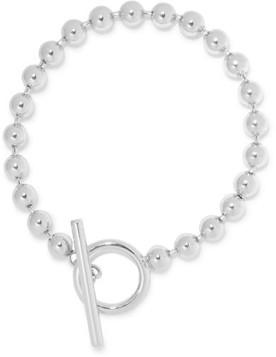Jennifer Fisher'S Orb Chain Silver-plated Anklet ($215) is a throwback that's all grown-up.