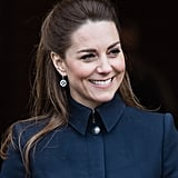 Kate Middleton's Sleek Half-Up Hairstyle, 2020