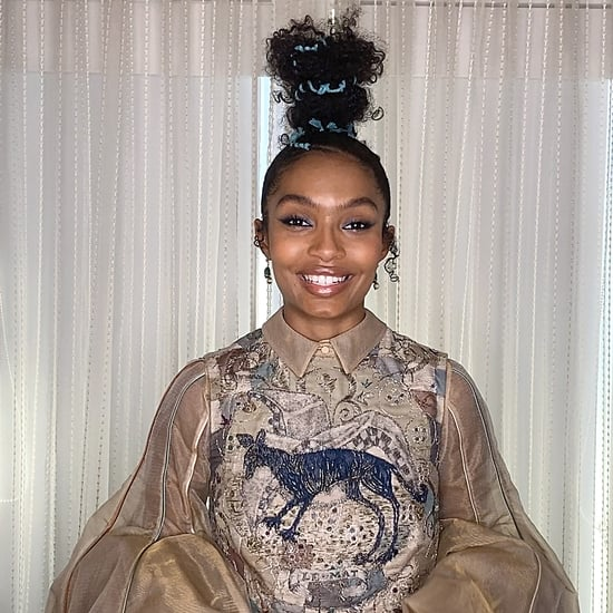 Yara Shahidi's Topknot at the 2021 Critics' Choice Awards