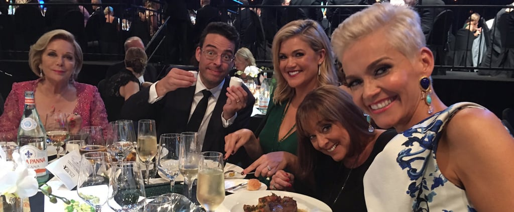 TV Week Logie Awards Ceremony Menu