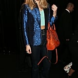 Suki Waterhouse at the Warner Music Group's post-Brit Awards party in London.