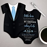 Tuxedo Baby Shower Invitation