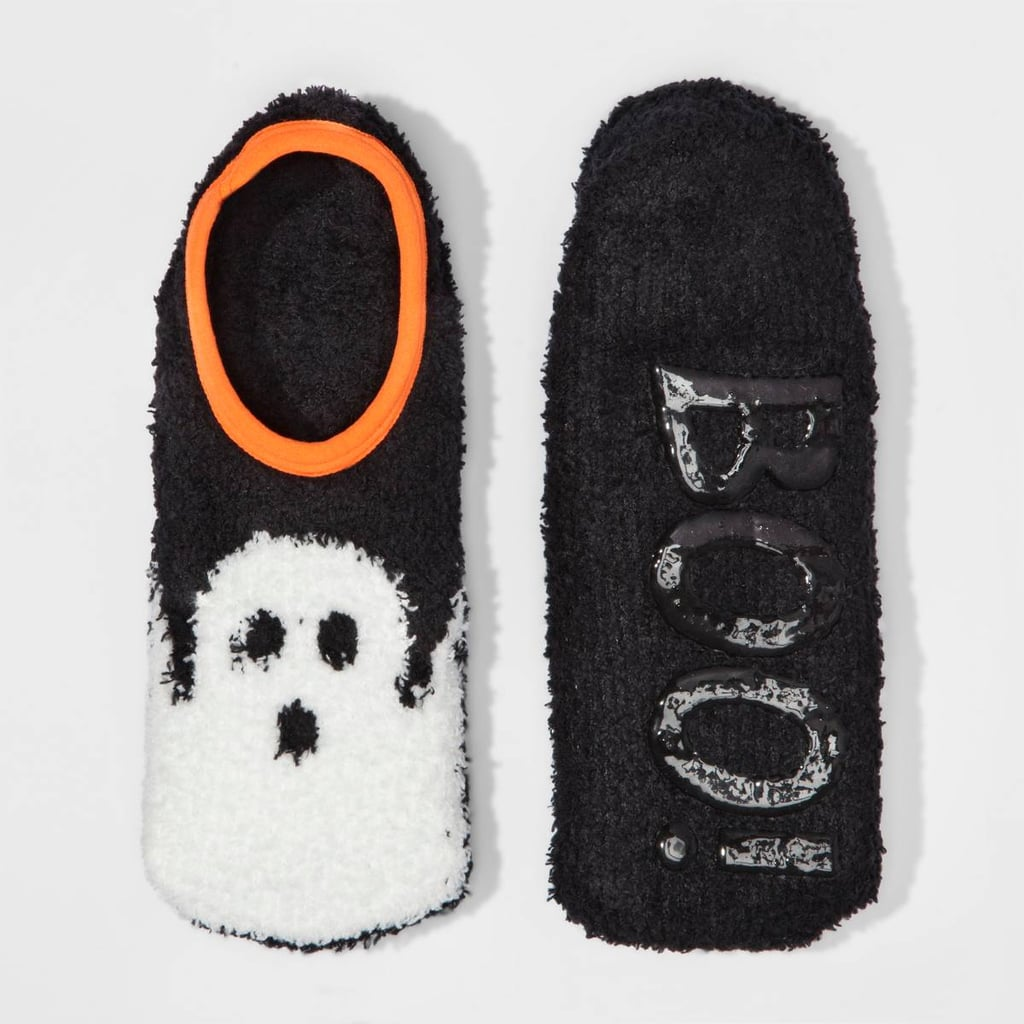 Ghost Halloween Slipper Socks