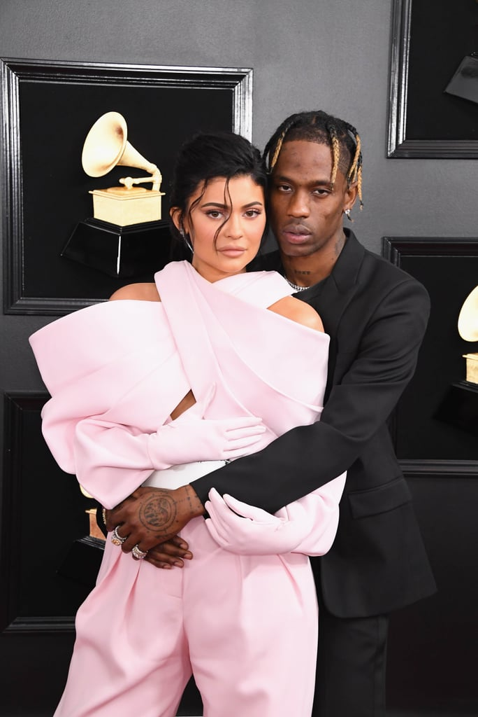 Kylie Jenner and Travis Scott Cuddle Up For a Musical Date Night at the Grammys
