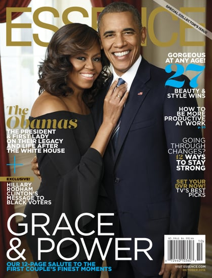 Michelle and President Obama Cover Style October 2016