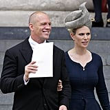 Zara Phillips' hat was sensational.