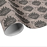 Harry Potter Hogwarts Castle Marauder's Map Wrapping Paper