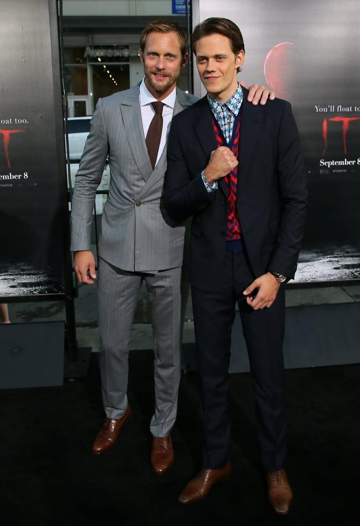 Alexander Skarsgard and Bill Skarsgard at It Premiere LA
