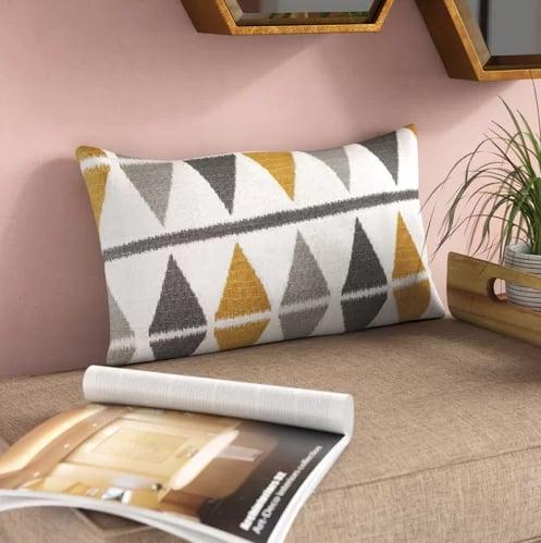 Lorenz Cotton Lumbar Pillow