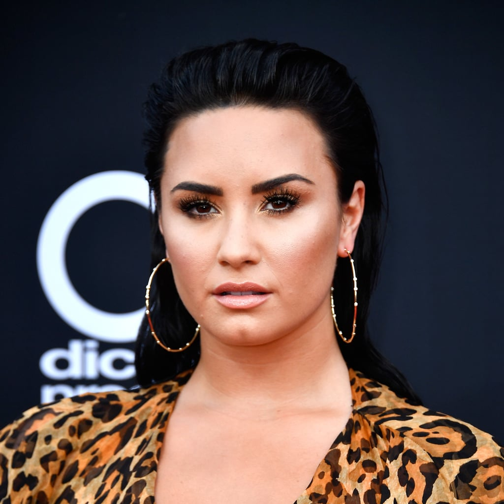 Demi Lovato Blond Highlights Summer 2018