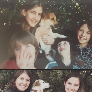Family Re-Creates Photo With Pet Before Putting Him Down