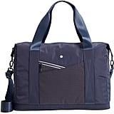 Zella New Perforated Duffel Bag
