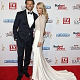 Tim Robards and Anna Heinrich, May 2015