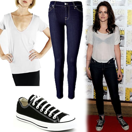 Kristen Stewart and Ashley Greene Wear Jeans and Tees