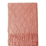 Bourina Coral Throw Blanket