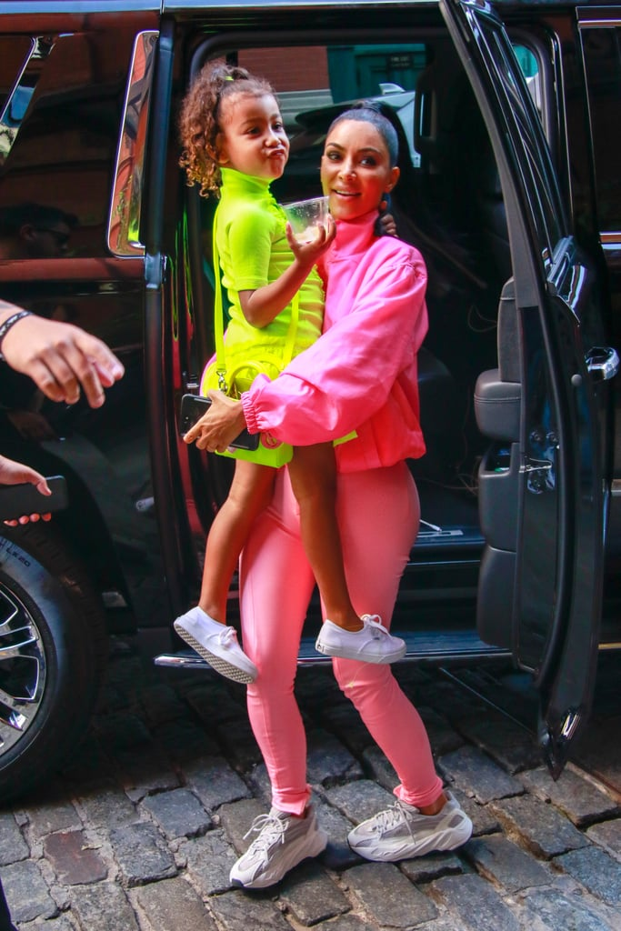 Kim Kardashian's No-Makeup Makeup in 2017