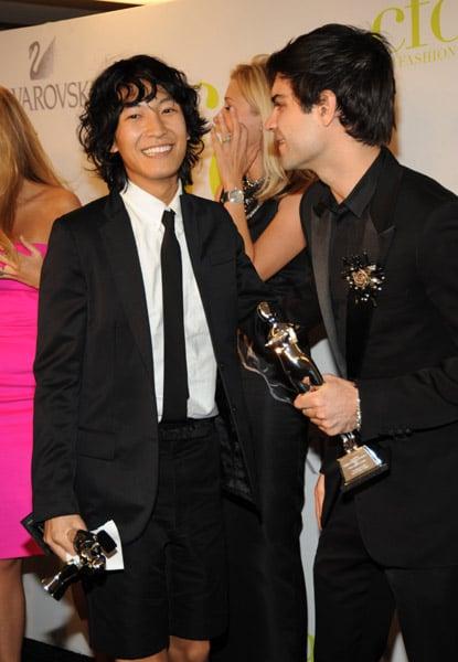 Alexander Wang and Justin Giunta