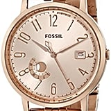 Fossil Women's ES3789 Vintage Muse Analog Display Analog Quartz Rose Gold Watch ($145)