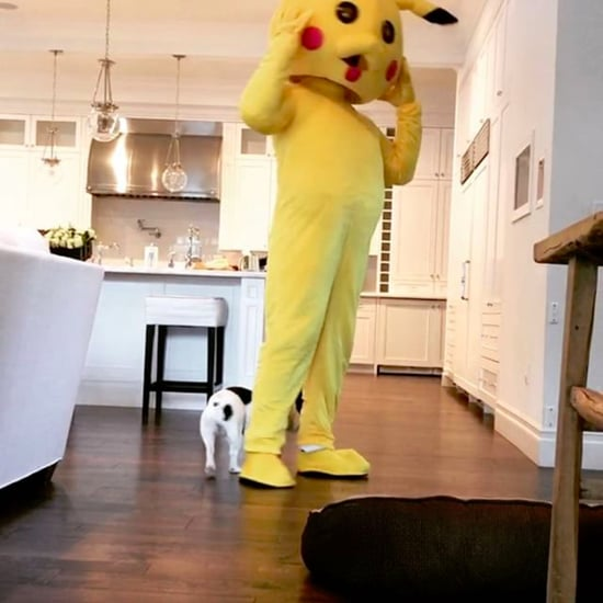 Dwayne Johnson Dresses Up as Pikachu For Daughter on Easter